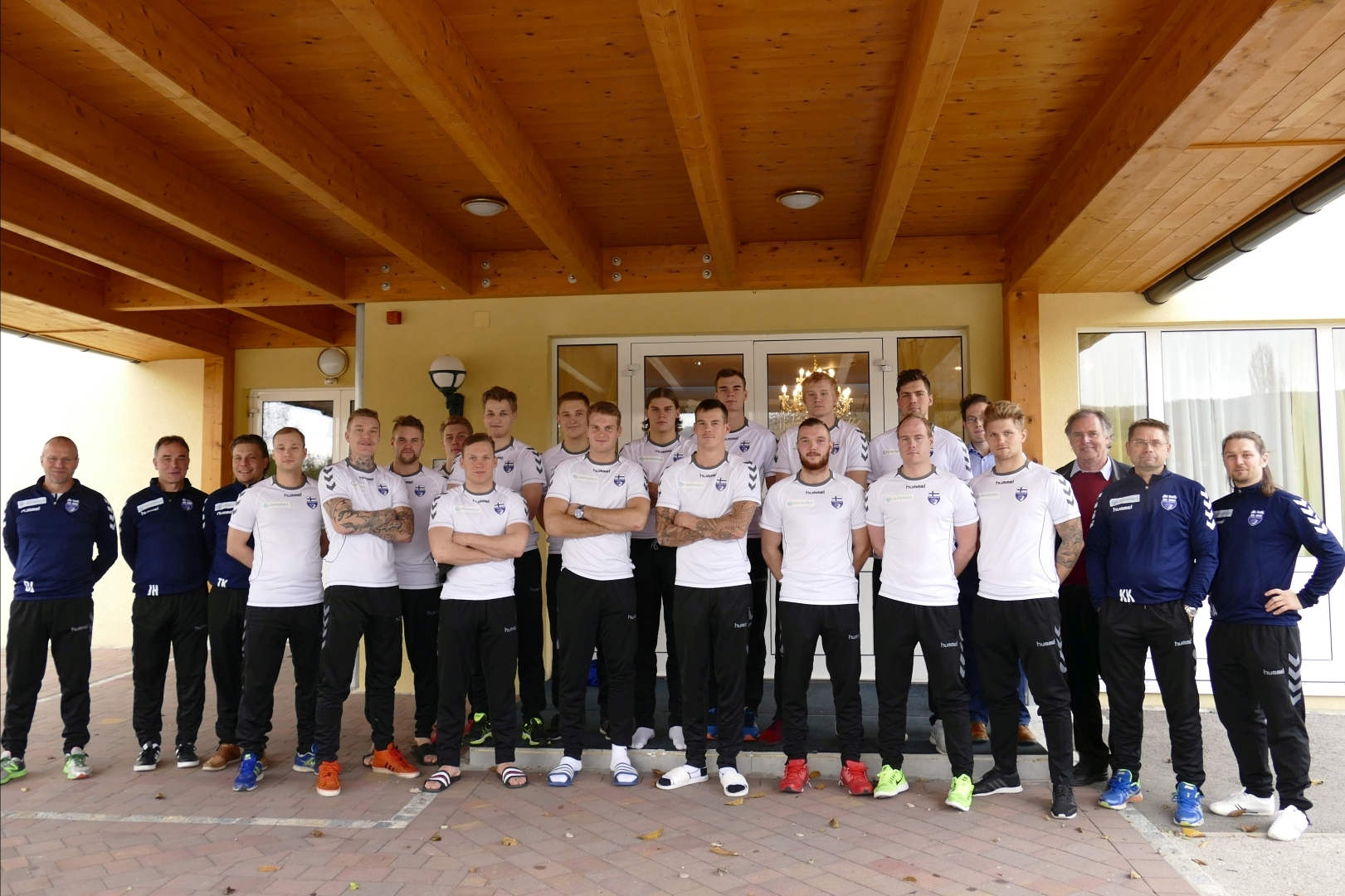 Finnische Handball Nationalmannschaft 2016