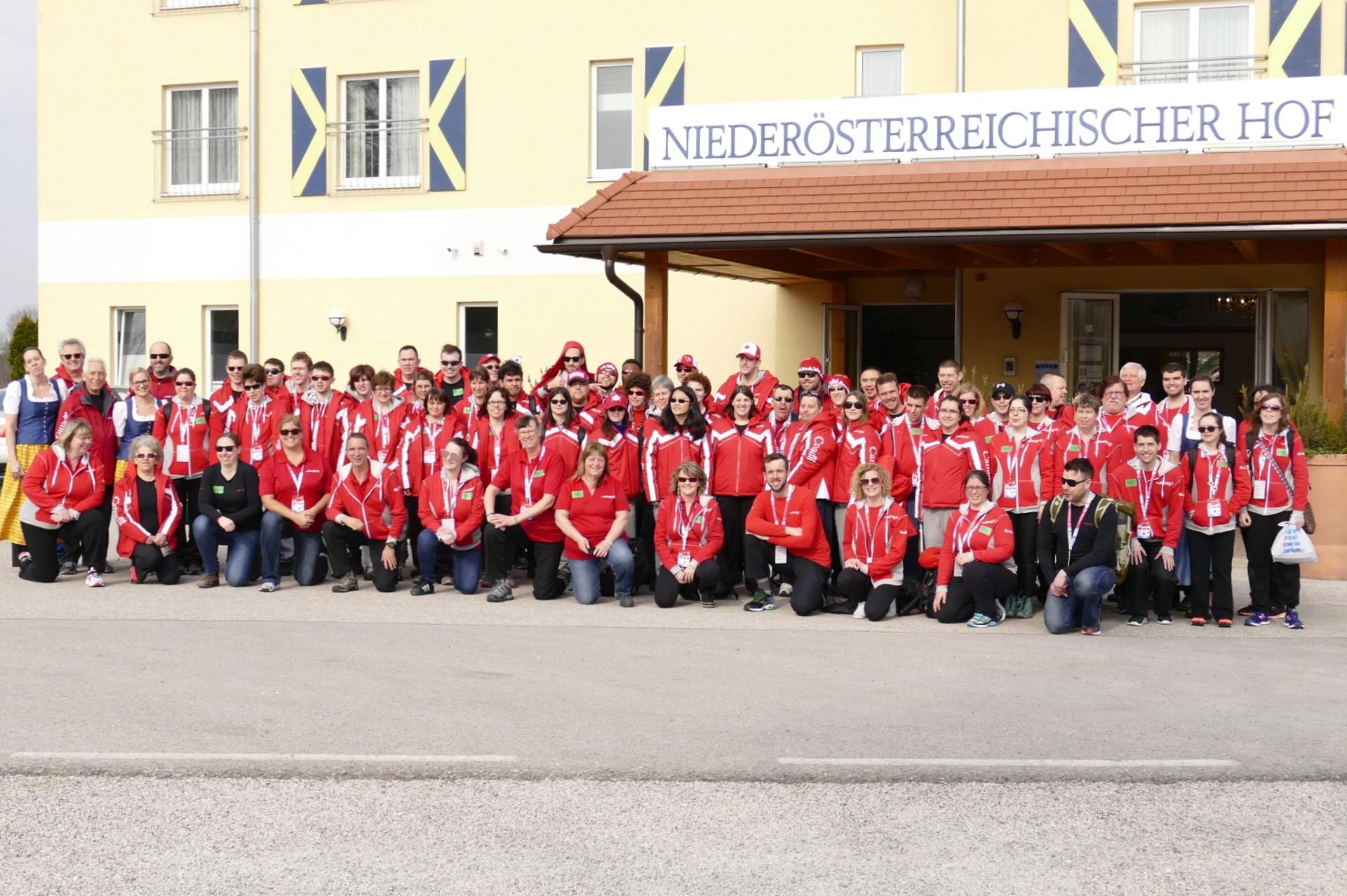 Kanadische Spezial Olympische Mannschaft 2017